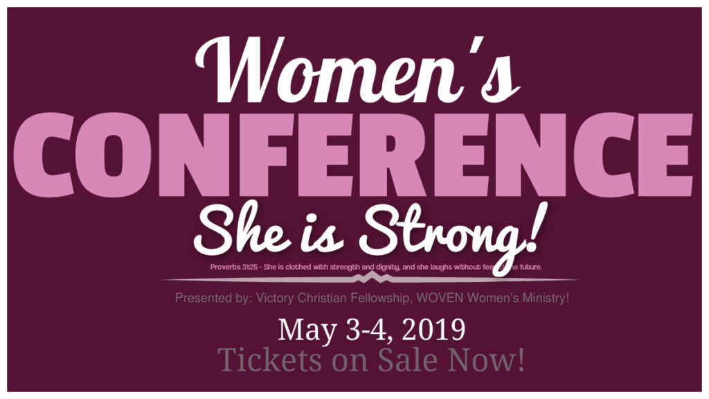 WOVEN Women's Conference 2019 - Victory Christian Fellowship